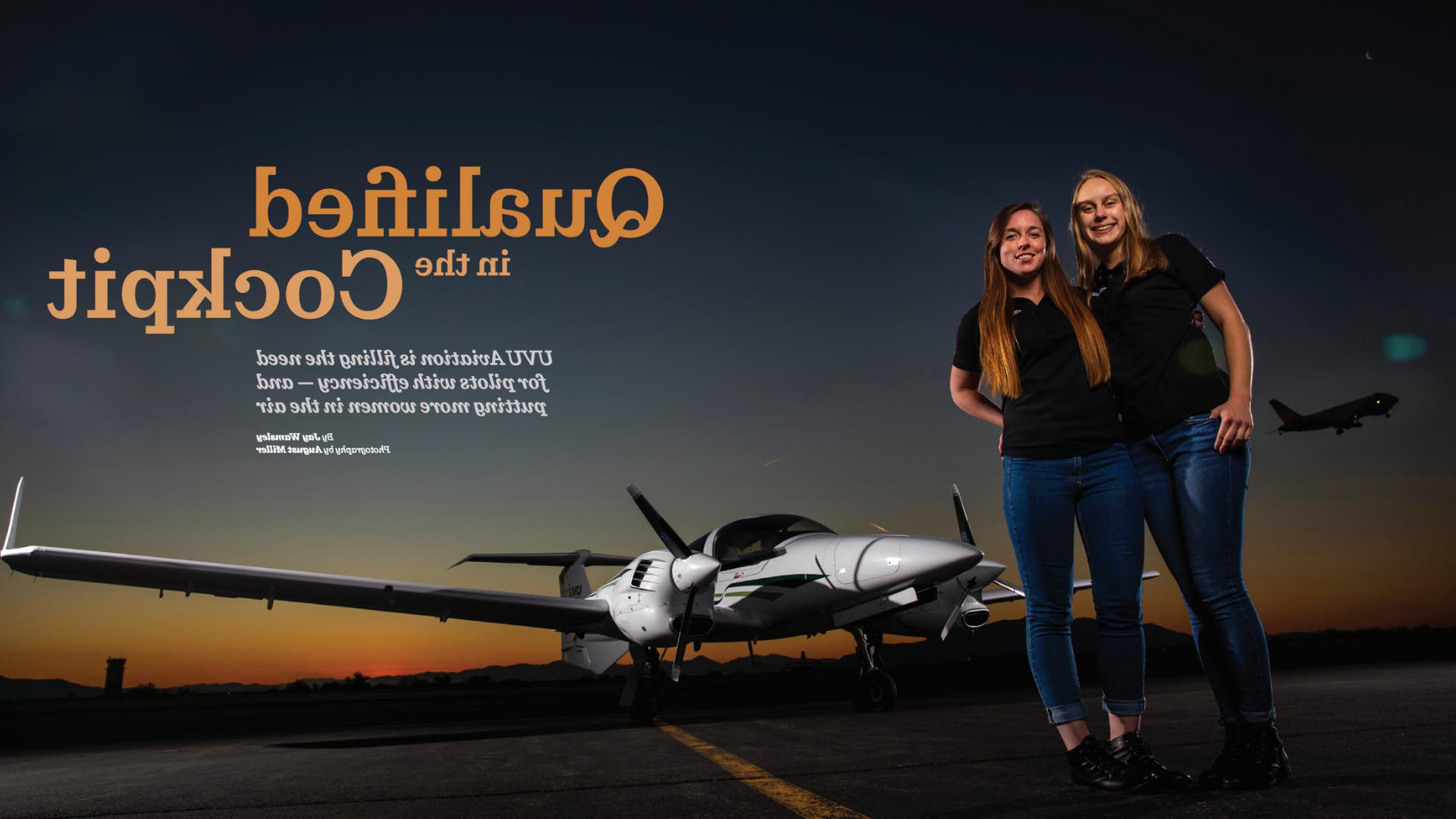 aviation uvu utah valley university uvu magazine